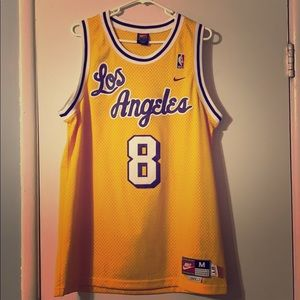 Los Angeles Lakers Kobe Bryant #8 Nike Jersey - M
